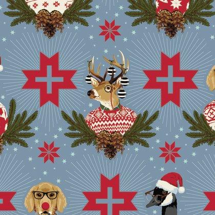 Holiday Homies- Buck, Buck, Goose- Blue