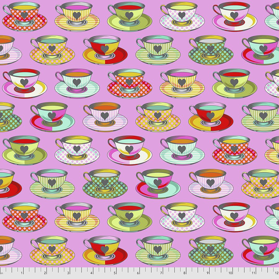 PRE-SALE: Curiouser and Curiouser- Tea Time -Wonder by Tula Pink