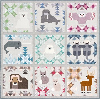 Quilt Kit: North Stars feat. Arctic by Elizabeth Hartman