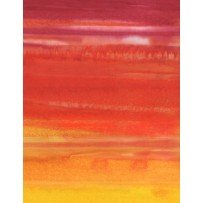 Wilmington Batik  Ombre Stripe Yellow/Orange
