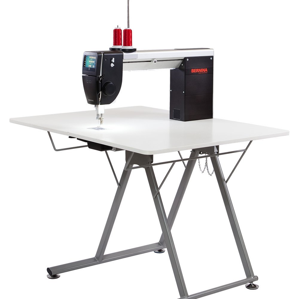 Bernina Q20 Sit Down Sewing Machine with Folding Table