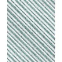 Friendly Gathering - Diagonal Stripe Gray/Teal