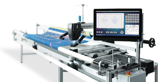 Bernina Q24 wih Qmatic Automation Software and frame
