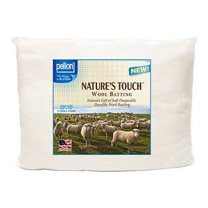 Wool Batting, King Size Package 120x120