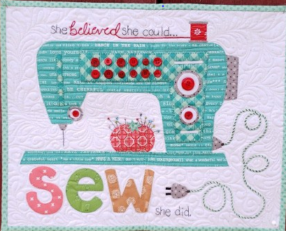 Sew She Did by Lori Holt Laser Cut Kit