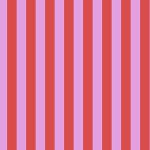 All Stars- Tent Stripe in Poppy by Tula Pink