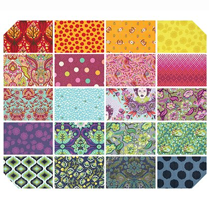 Fat Quarter Bundle- 20 pieces - Throwback Tula