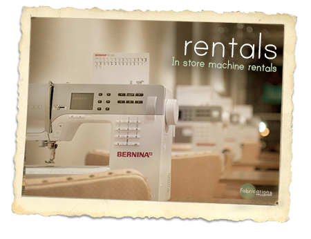 Machine Rentals Fabrications Impressive Where To Rent A Sewing Machine