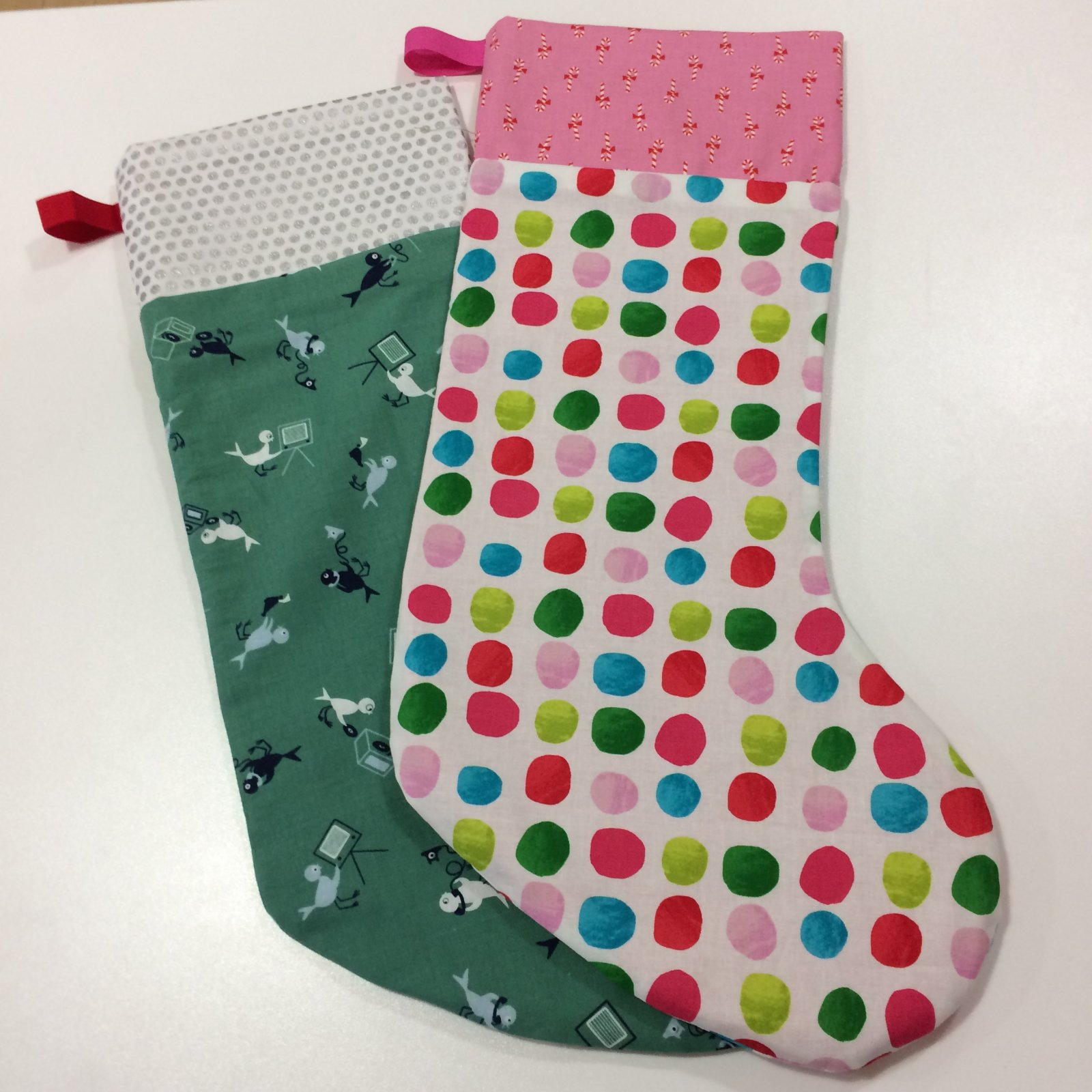 Beginner christmas stocking jeuxipadfo Gallery
