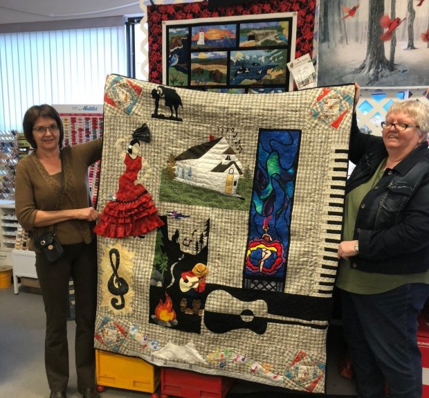Leslie Gjos Row By Row 2018 Winning Quilt