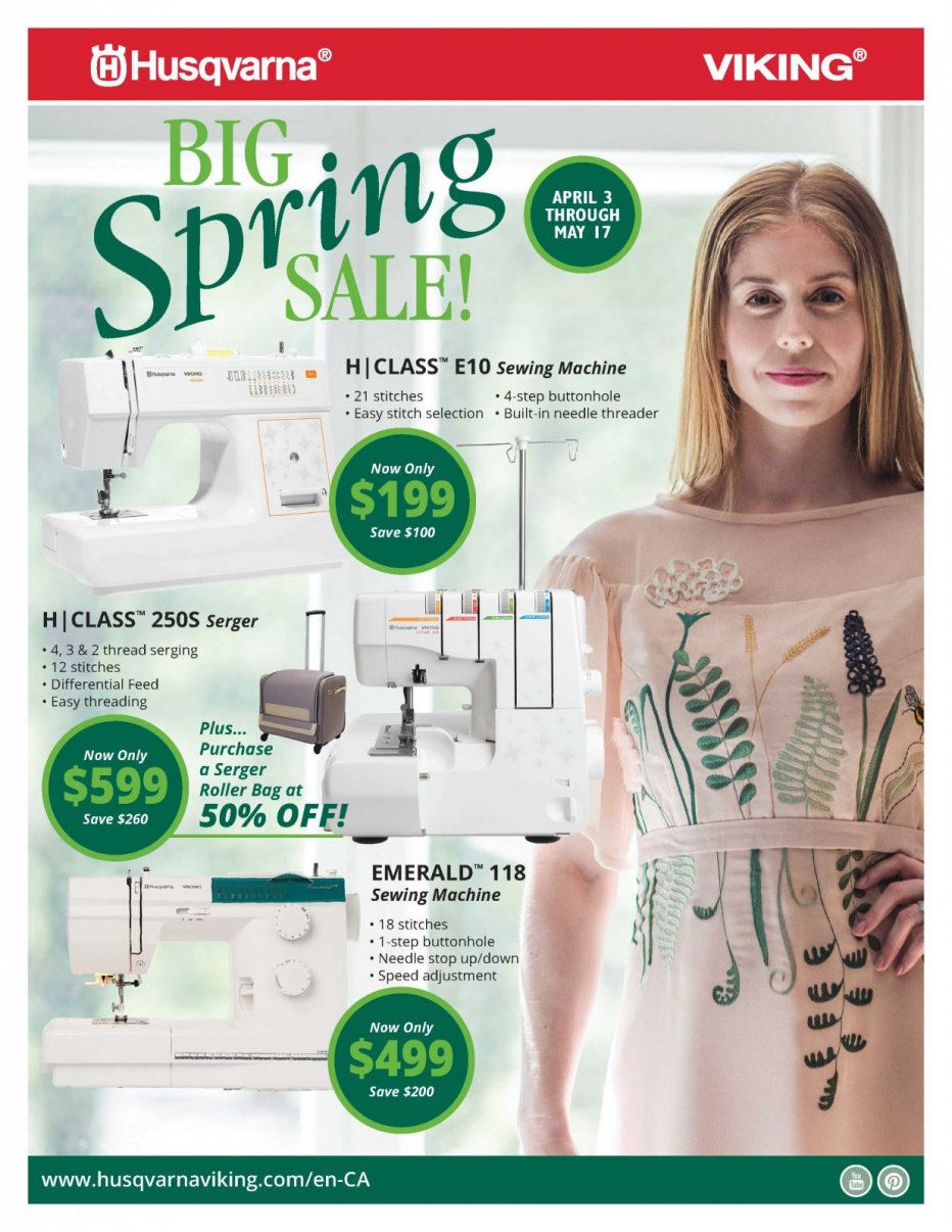 Spring Flyer Page 1