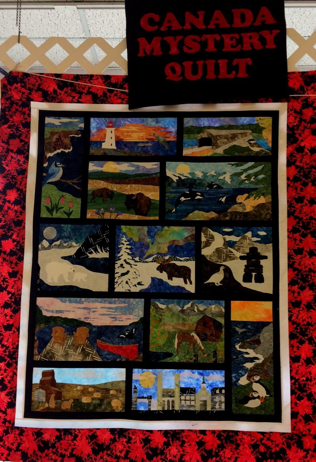 Canada Mystery Quilt : quilt canada - Adamdwight.com