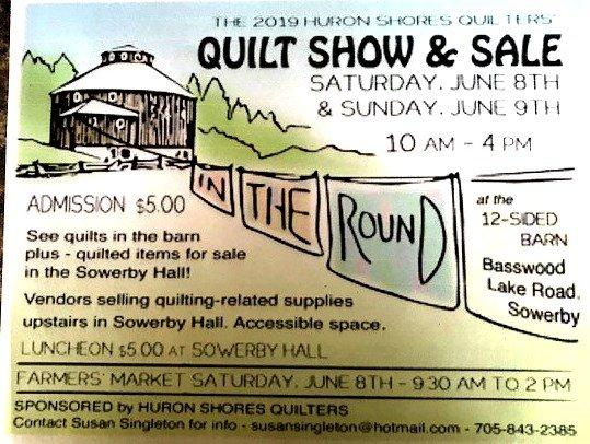 Huron Shores Quilt Show