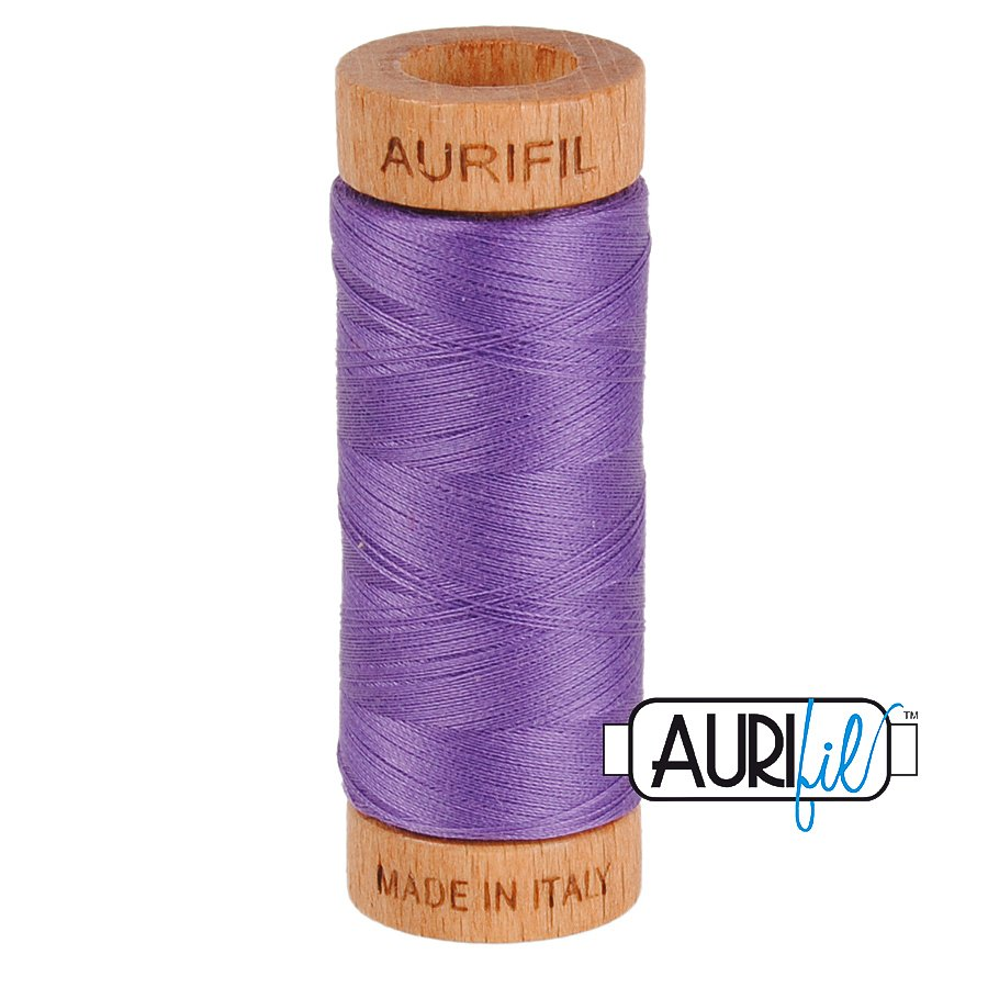 Aurifil Cotton Mako Thread 80wt 280m BMK80 1243 Purple