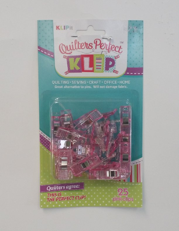 Quilters Perfect 25 Pink Klips