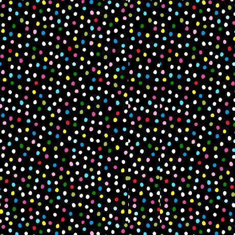 Sew Sassy Dots - Black