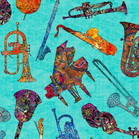 Fine Tuning Batik Instruments Aqua