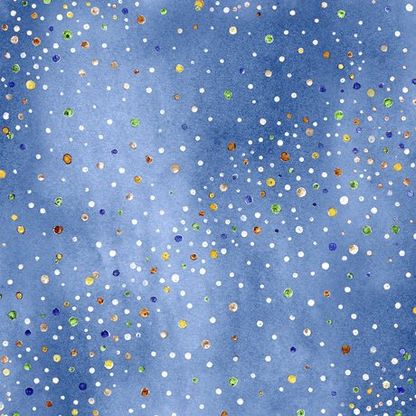 HORSIN' AROUND WATERCOLOR SPECKLES Style # : 27137 -B  Color : BLUE