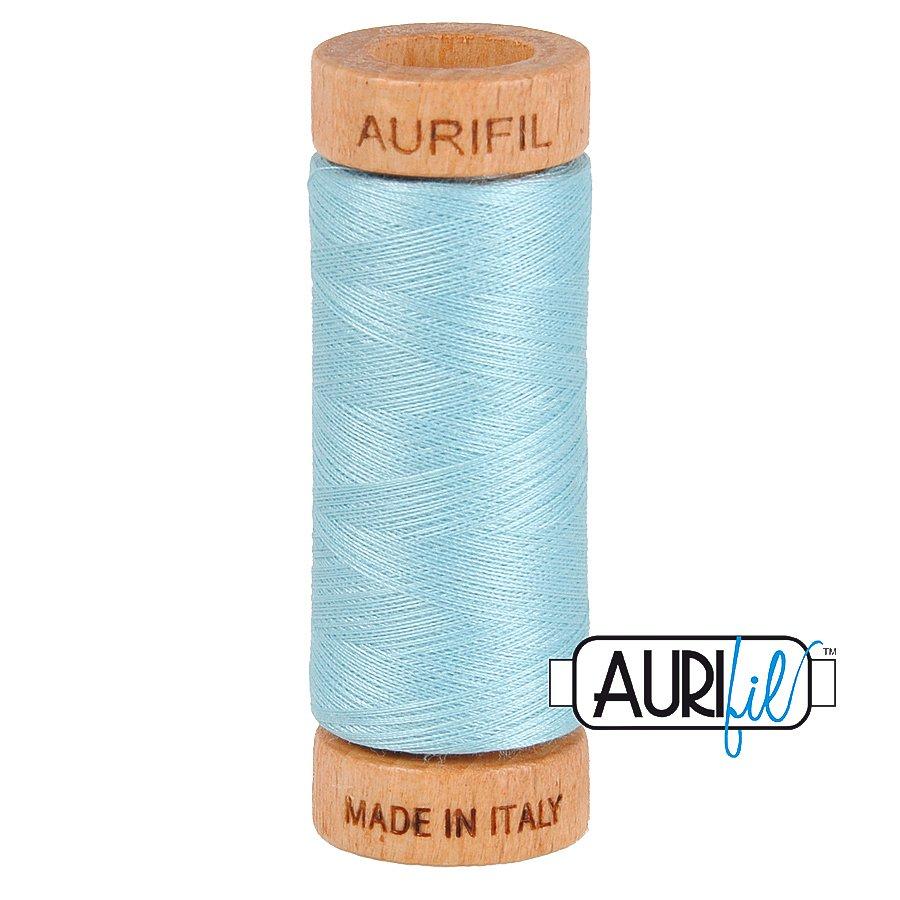 Aurifil Cotton Mako Thread 80wt 280m BMK80 2805 Light Blue