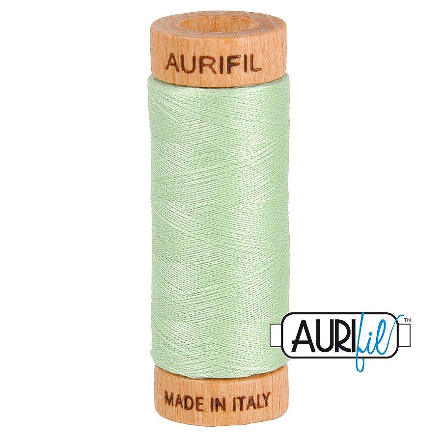 Aurifil Cotton Mako Thread 80wt 280m BMK80 2880 Light Green