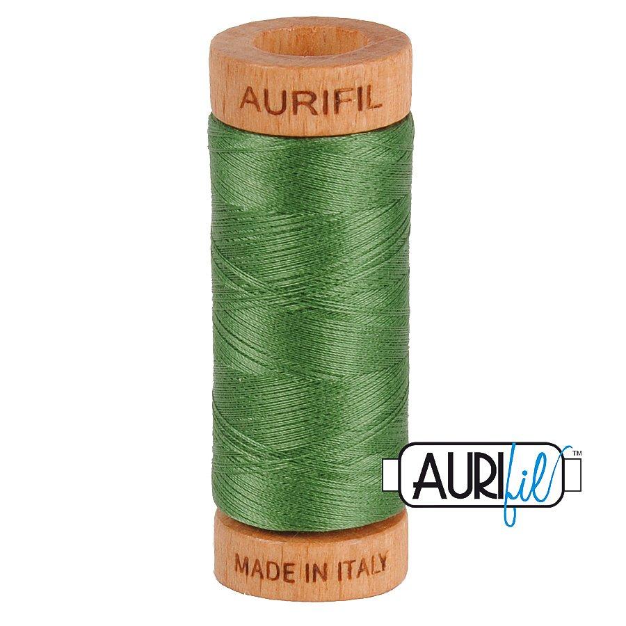 Aurifil Cotton Mako Thread 80wt 280m BMK80 2890 Green