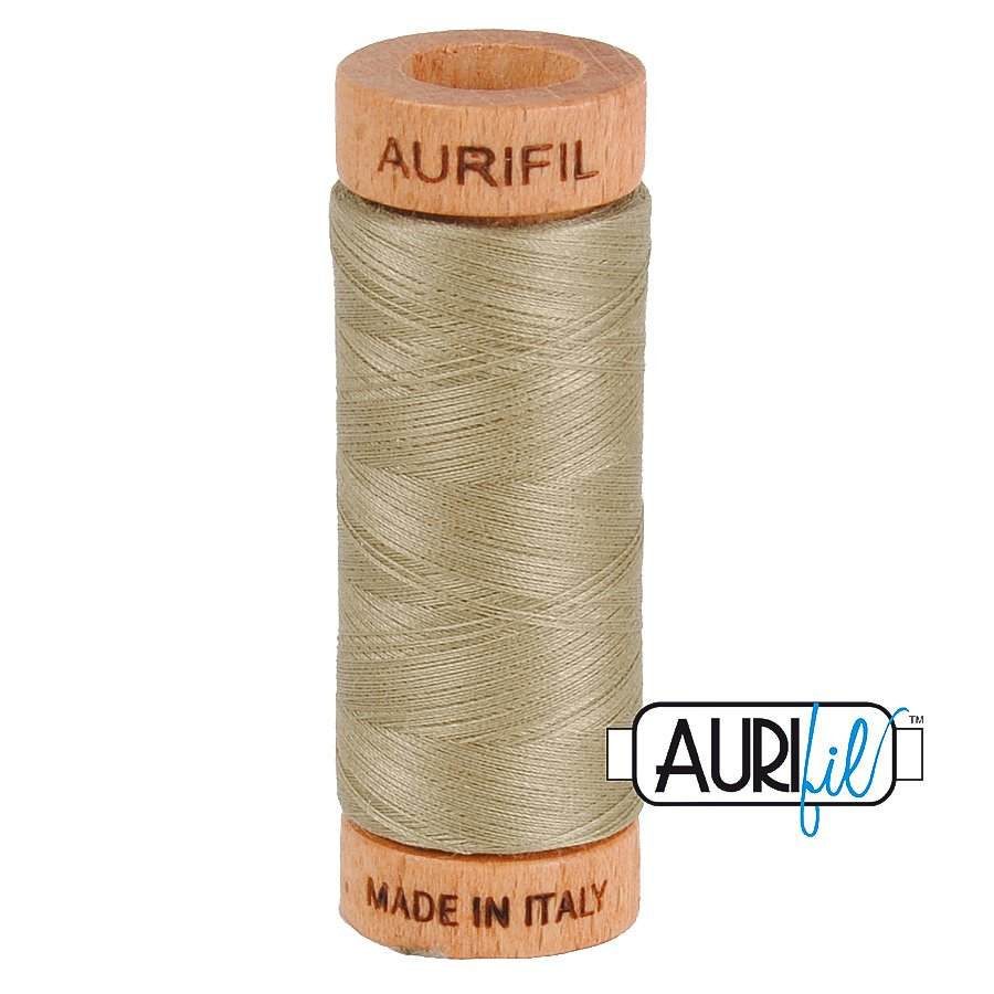 Aurifil Cotton Mako Thread 80wt 280m BMK80 2900 Tan