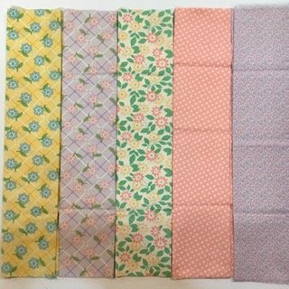 Assorted Moda 30's Fat Quarter Bundle- 5 piece