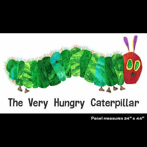 Caterpillar Panel - A Very Hungry Caterpillar A-7914-X