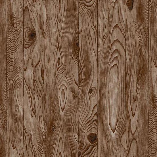 Rough Hewn Wood Planks Brown A-9155-N