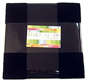 Bella Solids Layer Cake BLACK