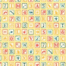 Alphabet AQB-18138-136 by Robert Kaufman Prints
