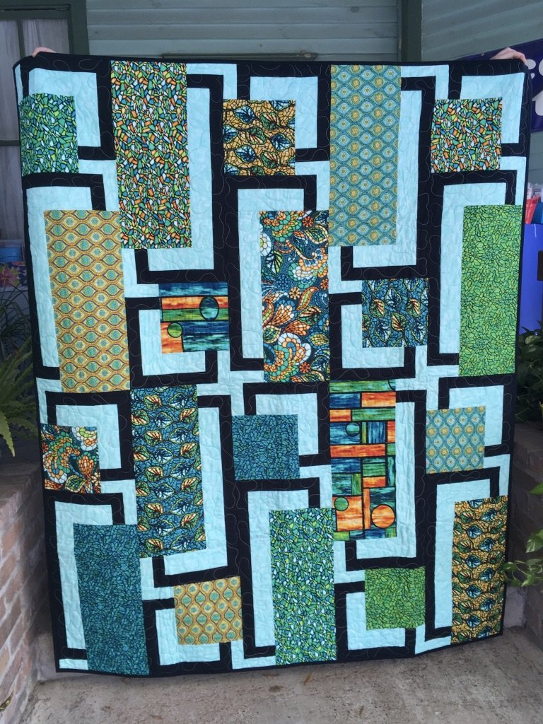Art Glass BQ4 Quilt 58x71