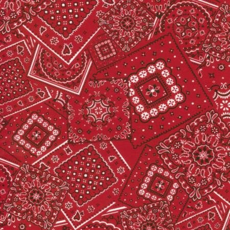 Bunk House Bandana Real Red