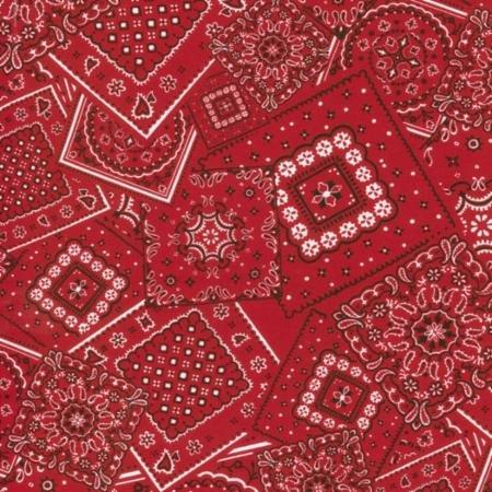 Bunk House Bandana Real Red