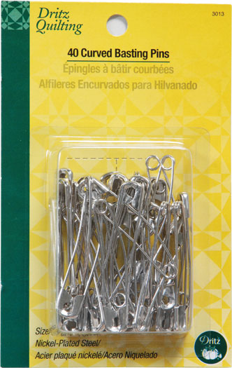 Curved Basting Pins sz3 3013 Dritz