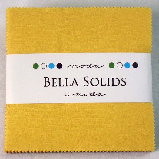 Bella Solids Charm Pack 30s