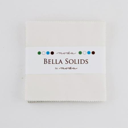 Bella Solids Charm Pack Feather