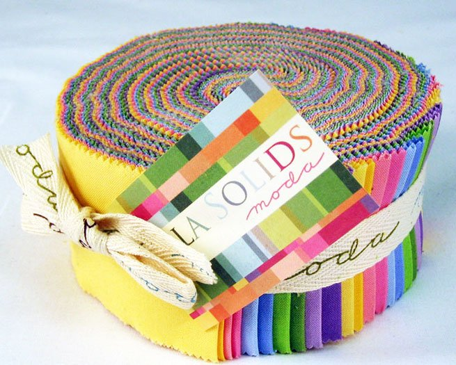 Bella Solids Jelly Roll