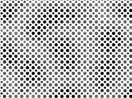 Ombre Dot Black