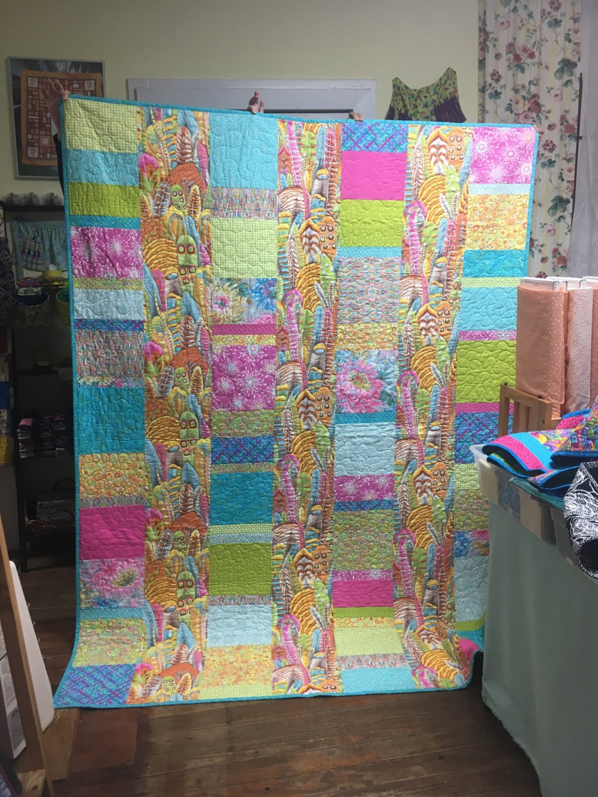 Bright Feather Quilt