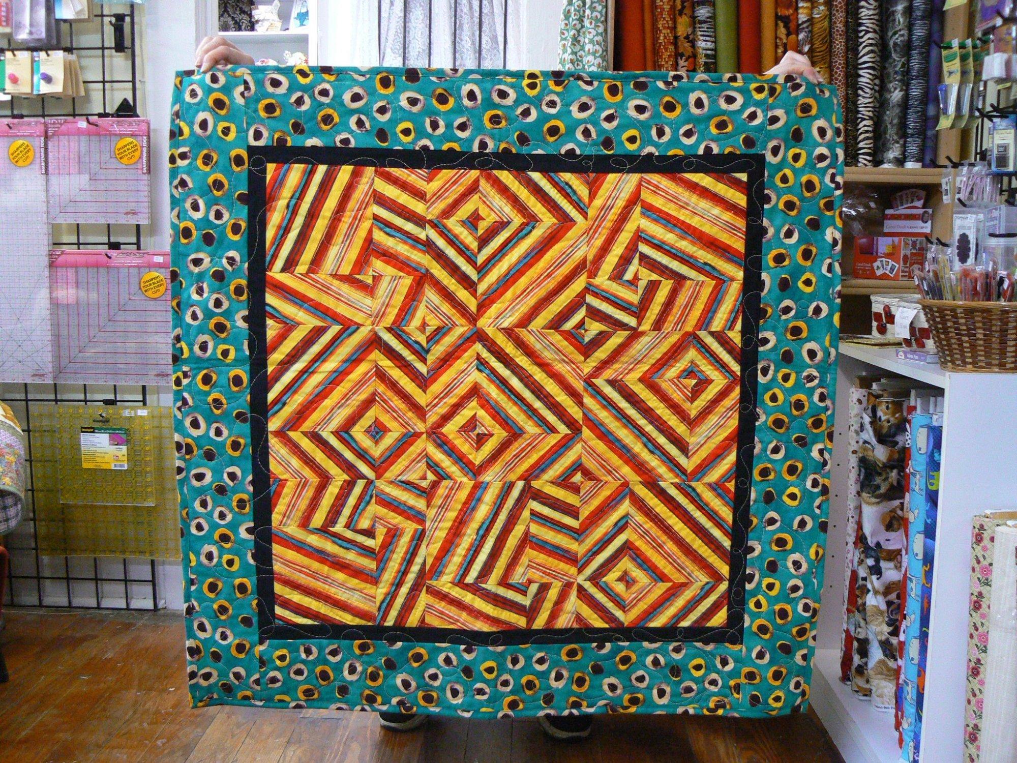 Frenzy Quilt 35x35