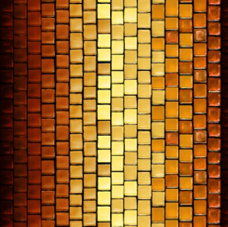 GLASS MENAGERIE   TILE STRIPE  Style # : 28036 -T  Color : RUST