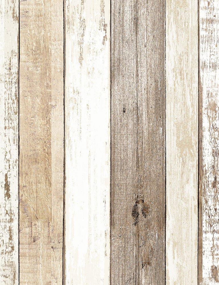 Weathered Wood Home - C7178 - Multi