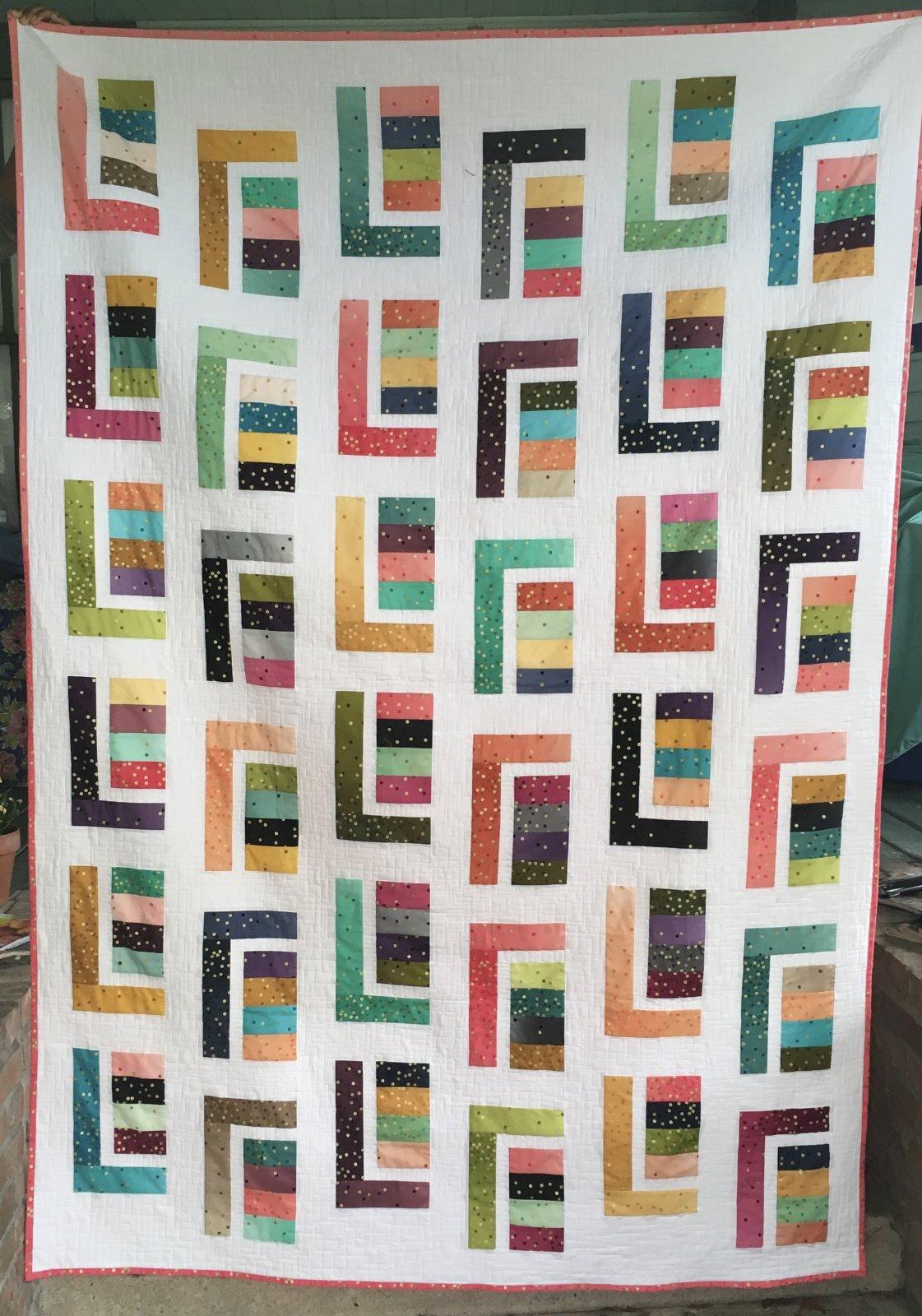Ombre Confetti Metallic Dots 62 x 89