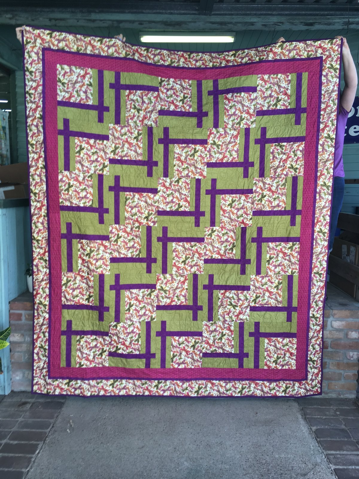 Dragonfly Quilt 82 x 94