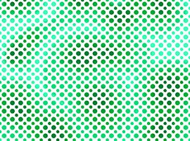 Ombre Dot Kelly Green