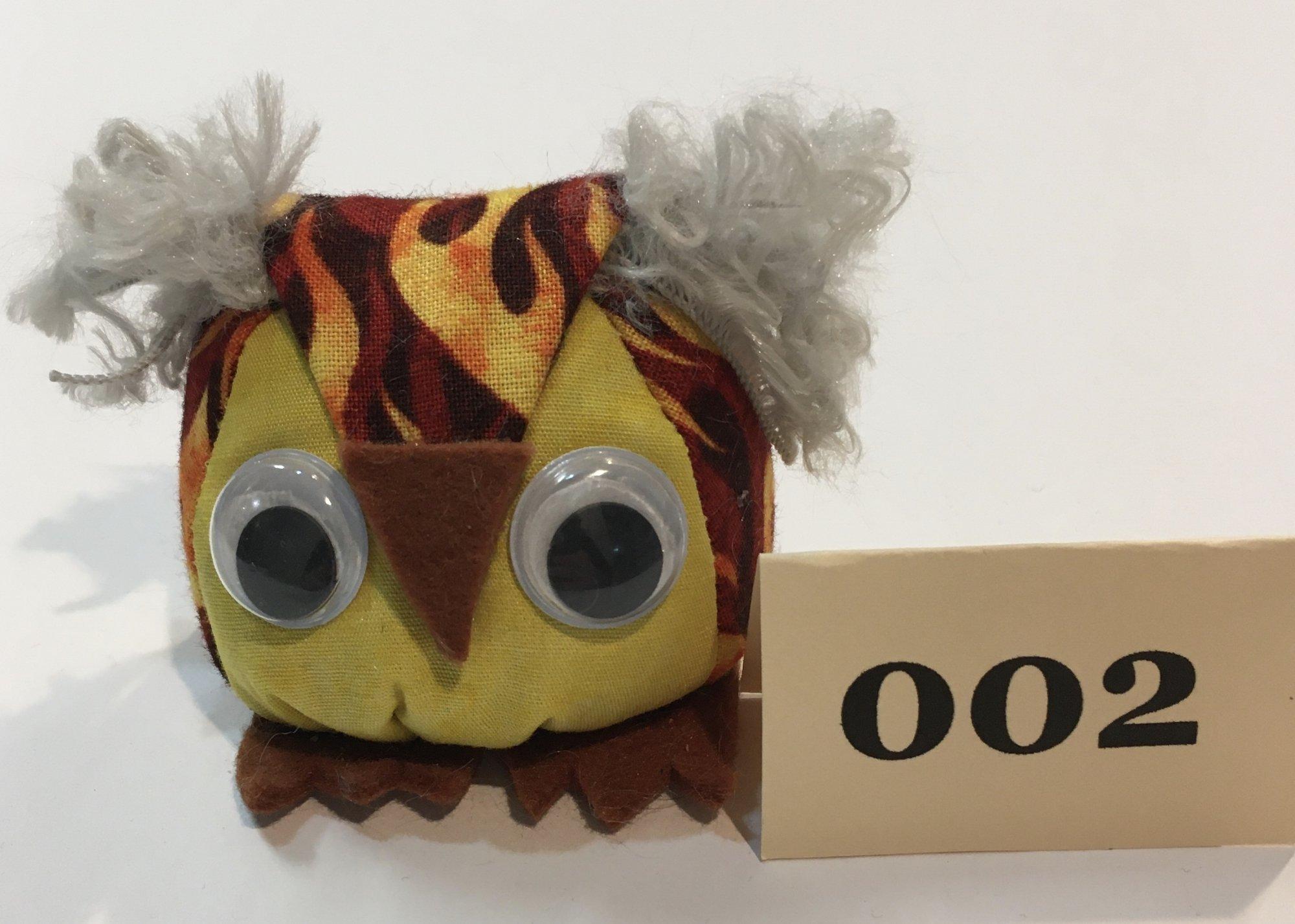 Baby Owl 2 Pincushion
