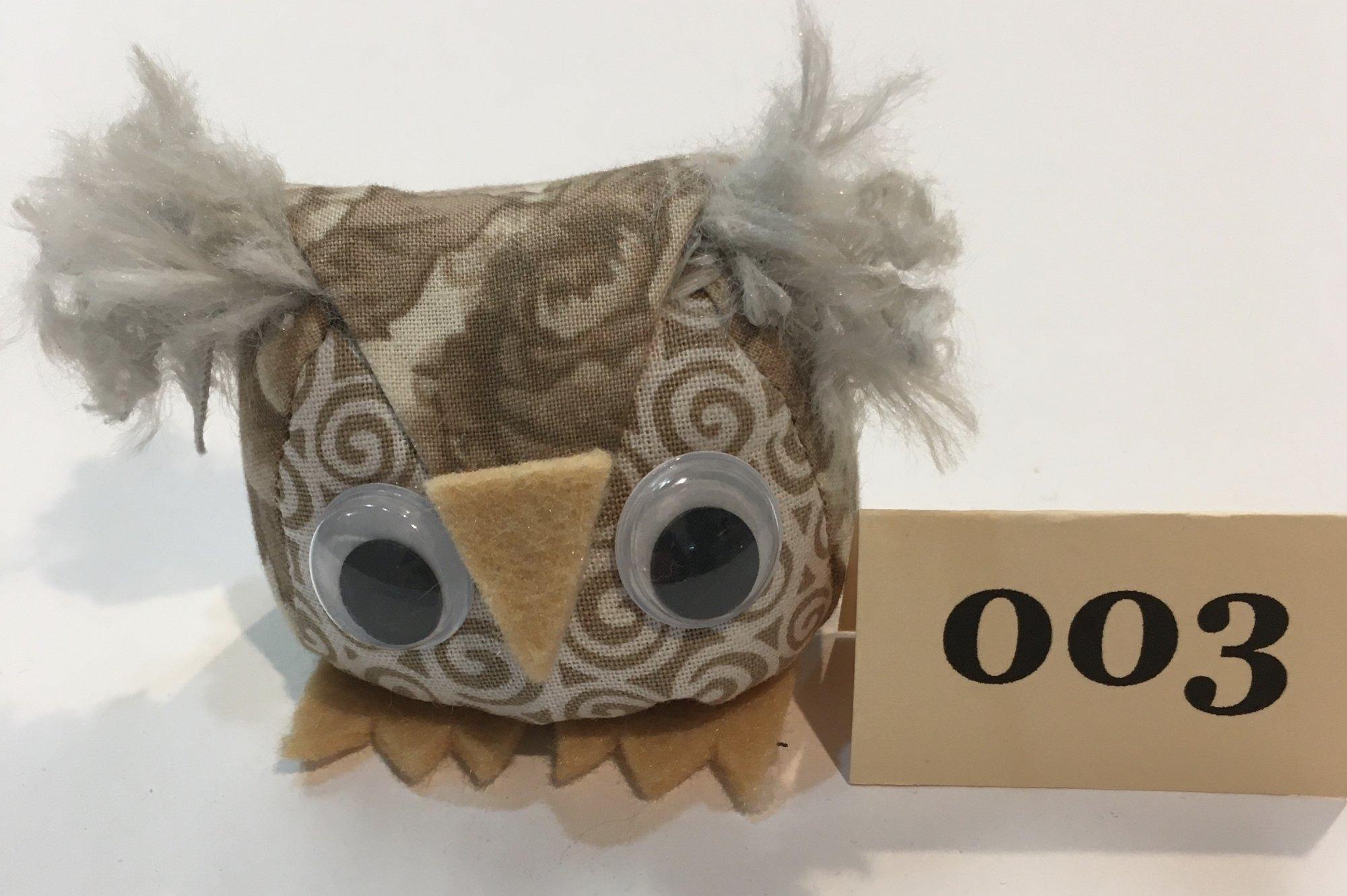 Baby Owl 3 Pincushion