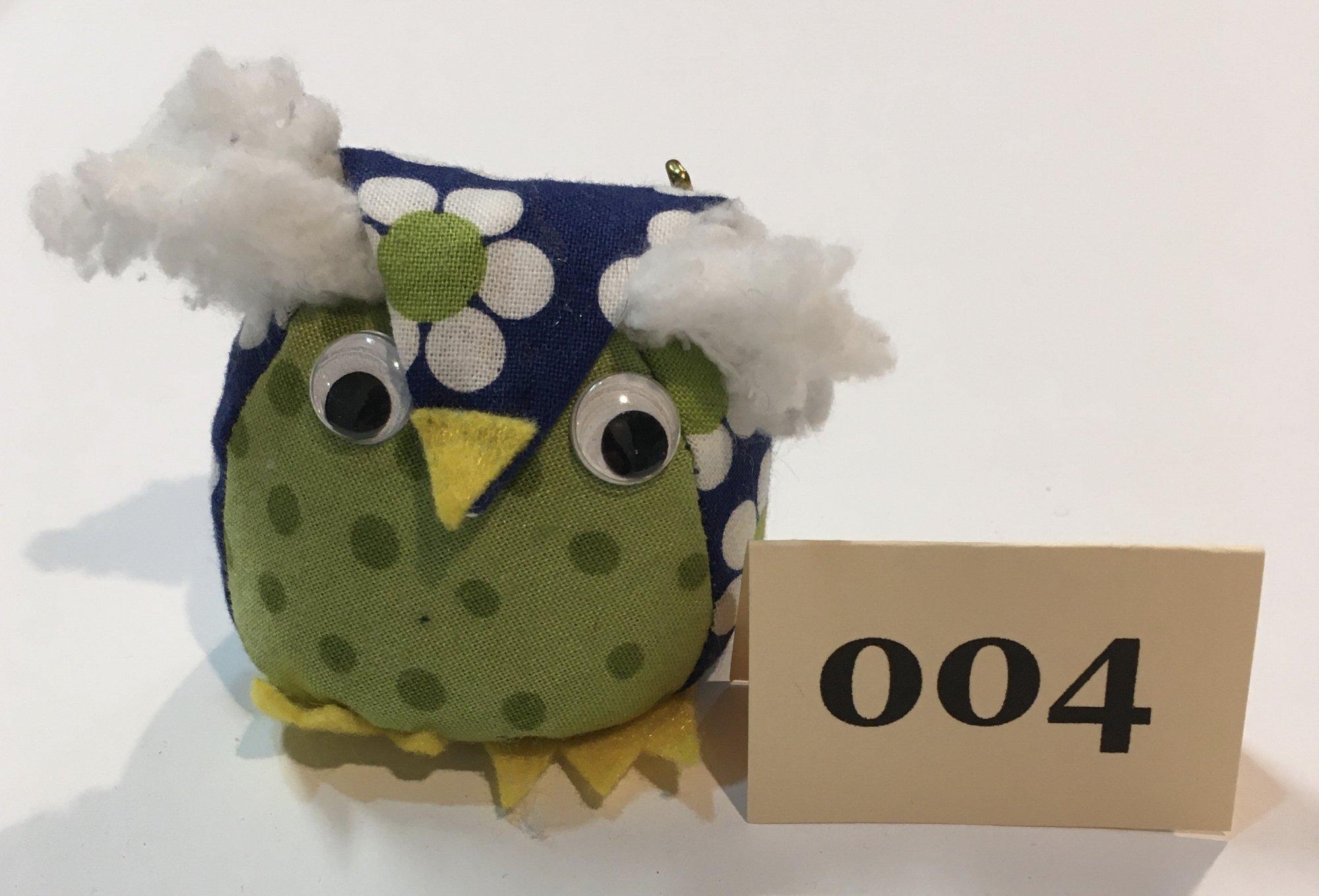 Baby Owl 4 Pincushion