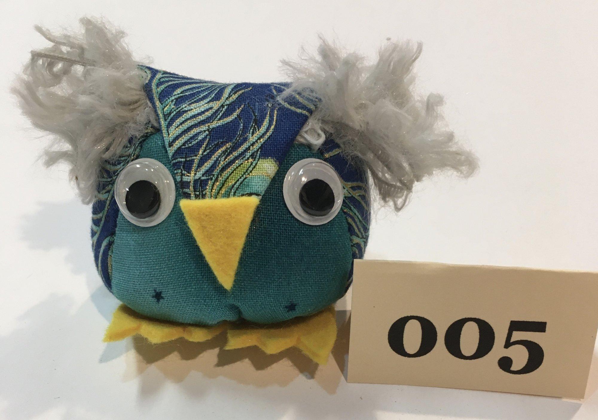Baby Owl 5 Pincushion